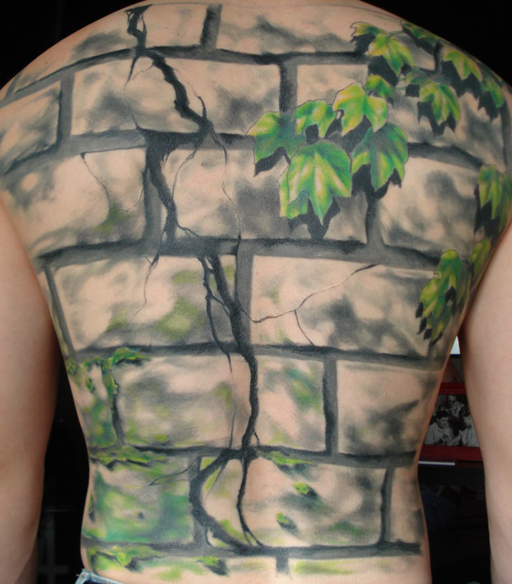 Brick Wall Backpiece