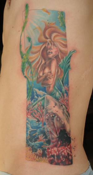 Mermaid Ribpiece