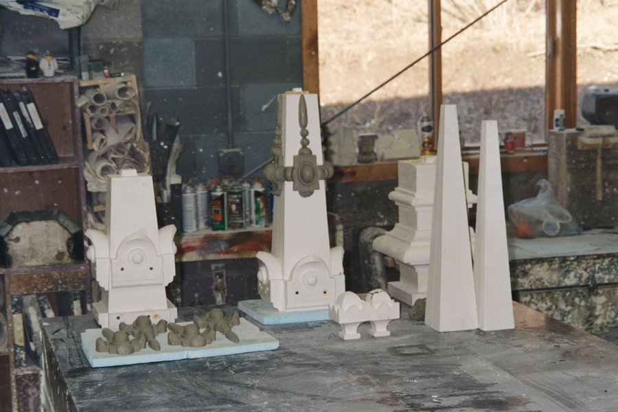 Finial's Disassembled