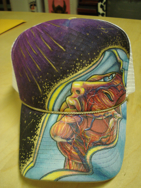 Hat for Alex Pardee