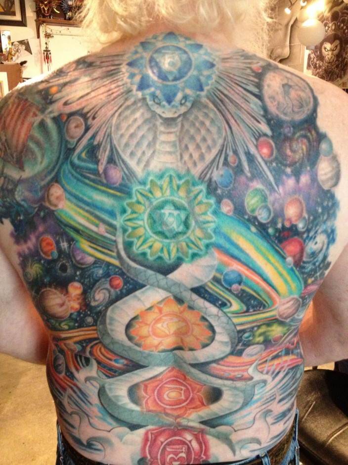 tim's kundalini cosmic back