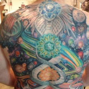 tim's kundalini cosmic upper back