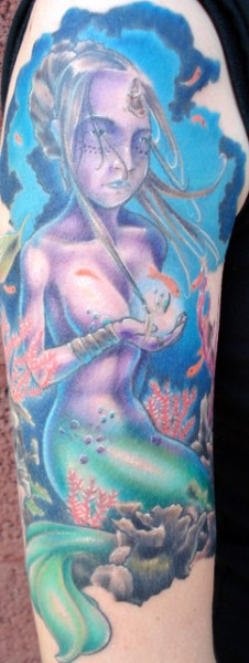 Mermaid 1/2 Sleeve