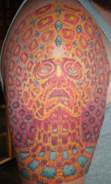 Alex Grey's 'Oversoul' 1/2 Sleeve