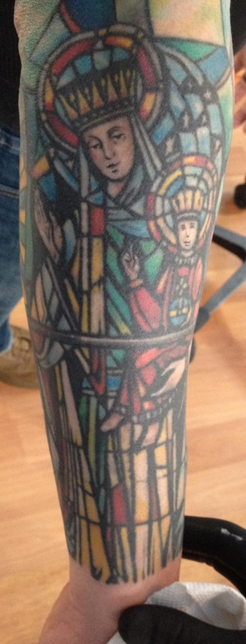 rob's stain glass