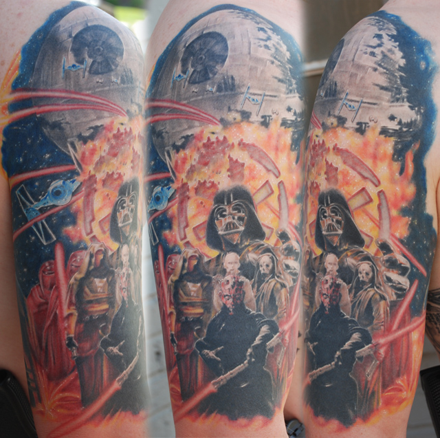 Sith 12 Sleeve 1 Sole Tattoo
