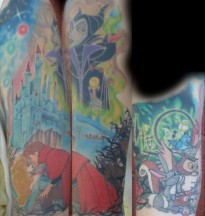 Sleeping Beauty 1/2 Sleeve