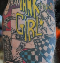 logo tank girl sleeve