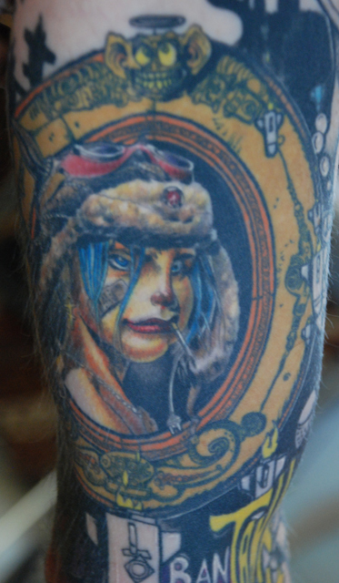 tank girl portrait