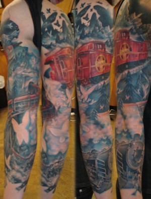 Ghost Train Sleeve